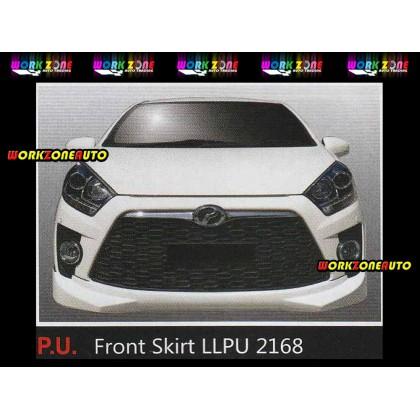 LLPU2168 Perodua Axia 2014 SE Advance PU Front Skirt (Sportivo)