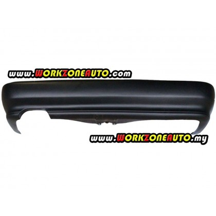 Proton Wira Sedan 1992 Rear Bumper Black