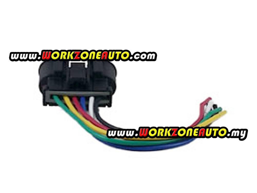 Proton Wira 1 5 1 6 Distributor Socket 6 Pin