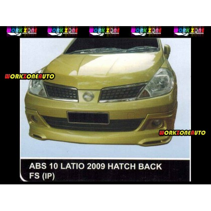 ABS10 Nissan Latio 2009 Hatch Back ABS Front Skirt (IP)