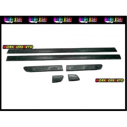 GTI-DL Proton Satria Fiber Door Lining - 6 Pcs