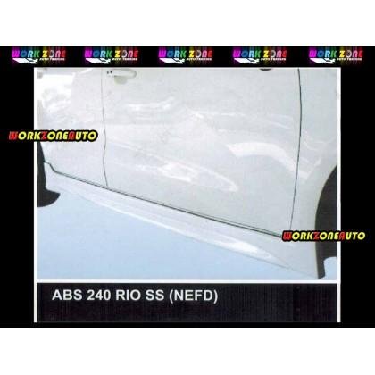 ABS240 Kia Rio ABS Side Skirt (NEFD)