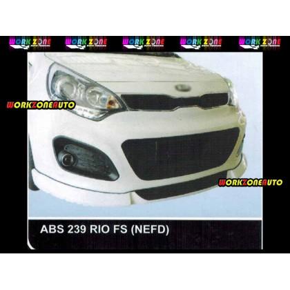 AF88 Kia Rio NEFD ABS Bodykit Fullset (ABS239, ABS240,ABS241)