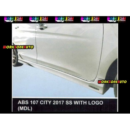 AF90 Honda City Facelift 2017 MDL ABS Bodykit Fullset With Logo (ABS74,ABS107,ABS75)