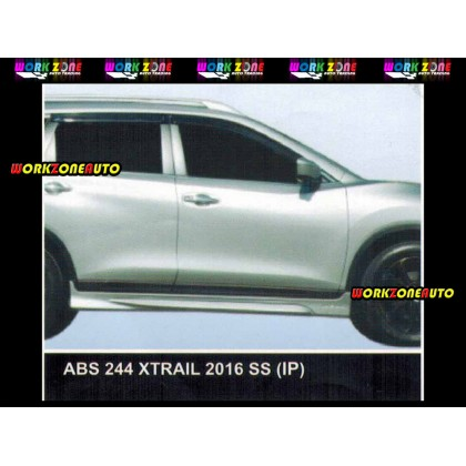 ABS244 Nissan X-Trail 2016 ABS Side Skirt (IP)