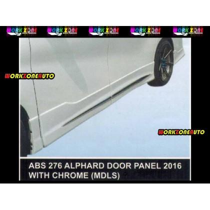 ABS276 Toyota Vellfire Alphard 2016 ABS Door Panel With Chrome (MDLS)