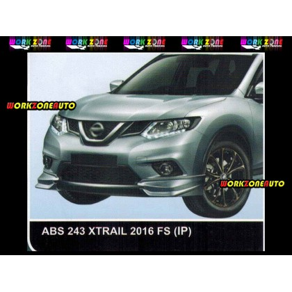 ABS243 Nissan Xtrail 2016 ABS Front Skirt (IP)